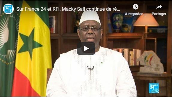 Revivez l'entretien que le PR Macky Sall a accordé à France 24 et RFI