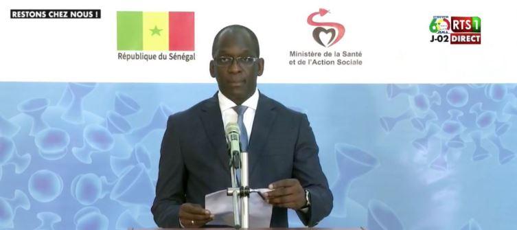 Coronavirus : Le Sénégal enregistre 7 nouveaux cas ce Vendredi