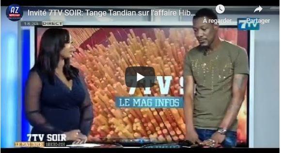 Invité 7TV SOIR: Tange Tandian sur l'affaire Hiba THIAM et l'usage de la drogue chez les jeunes