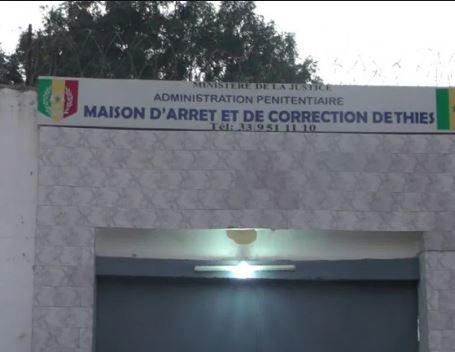 Prison de Thies : Un détenu testé positif au coronavirus