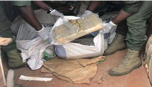 La zone centre :Saisie de 84 kg de chanvre indien et de faux médicaments