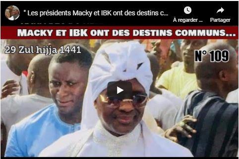 Serigne Modou Kara : «Macky et IBK ont le même destin»
