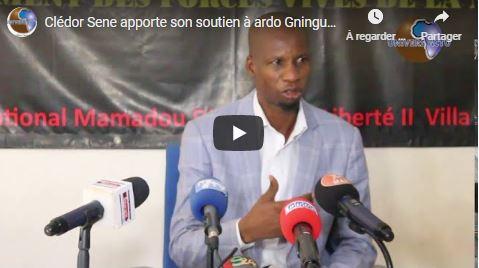 Clédor Sene apporte son soutien à ardo Gningue et dénonce le mutisme des autorités