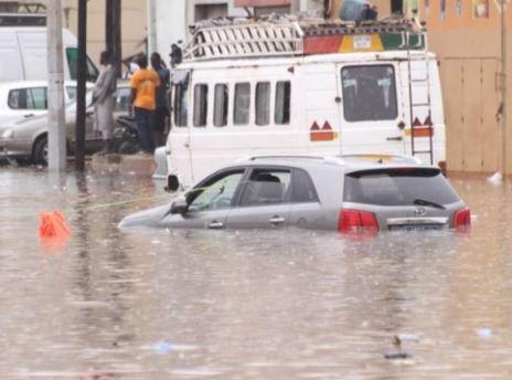 Inondations : Plus de 7300 sinistrés recensés à Dakar