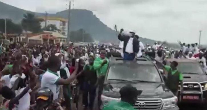 Des milliers de Guinéens derrière Cellou Dalein Diallo
