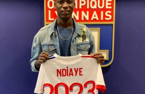 Abdoulaye Ndiaye de Dakar Sacré Cœur, s'engage à Lyon
