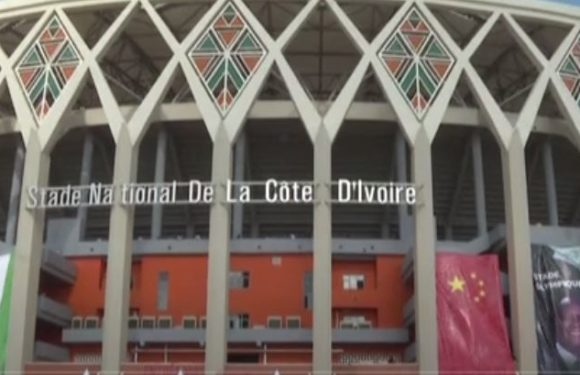 Alassane Ouattara inaugure le nouveau stade olympique à Ebimpe
