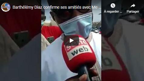 Barthélémy Diaz enterre ses différends  avec Me Moussa Diop et accuse  Macky Sall