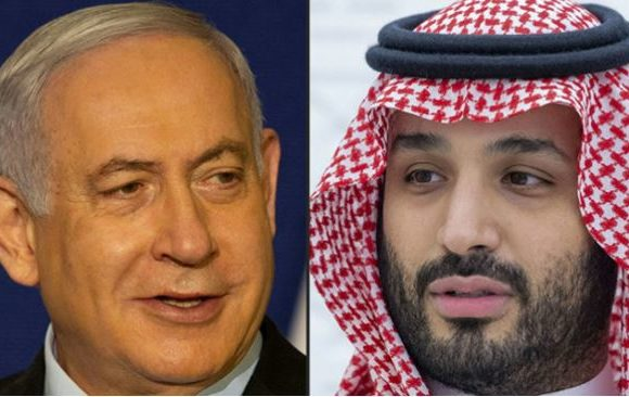 Netanyahu s'est rendu en secret dimanche en Arabie saoudite