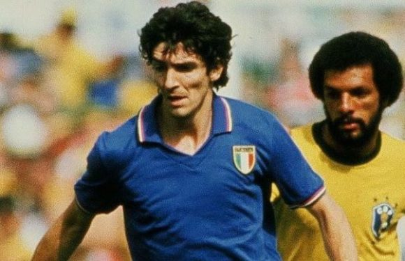 Paolo Rossi:  héros de la Coupe du monde 1982 ,mort à l'âge de 64 ans.