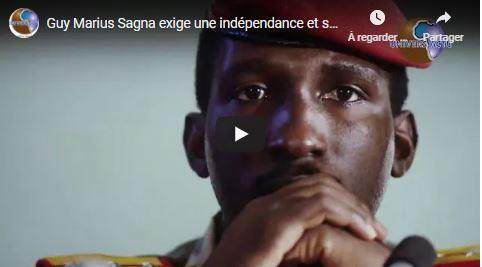 Guy Marius Sagna exige une indépendance et souvrainete monétaire