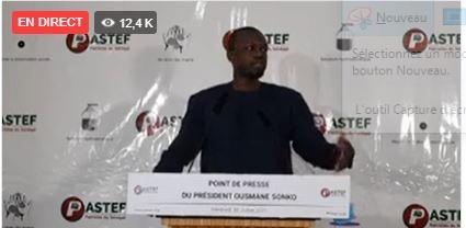 Covid 19 et vaccination : Ousmane Sonko se prononce sur la gestion de la crise sanitaire et alerte