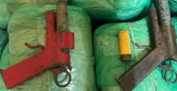 Diourbel : 55 kg de cannabis et des armes saisis par la Brigade Régionale de stupéfiants