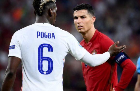 Man United: Paul Pogba réagit au retour de Cristiano Ronaldo