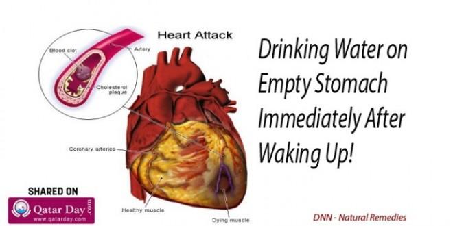 Santé :voici ce qui se passe quand vous buvez de l'eau sur un estomac vide les résultats sons surprenants Regardez !