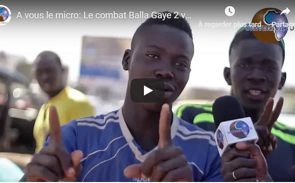A vous le micro: Le combat Balla Gaye 2 vs Modou Lô