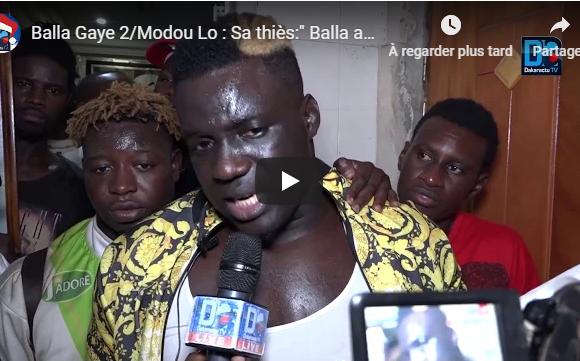 Lutte : Sa Thiès « Balla Gaye était largement au-dessus de Modou Lo »