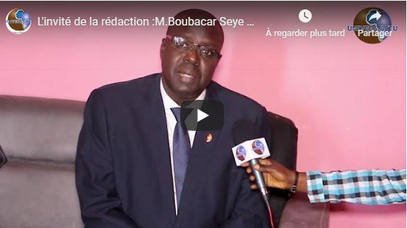 L'invité de la rédaction :M.Boubacar Seye consultant et chercheur en migration