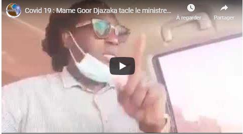 Covid 19 : Mame Goor Djazaka tacle le ministre de la culture