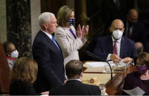 Joe Biden confirmé président par le Congrès