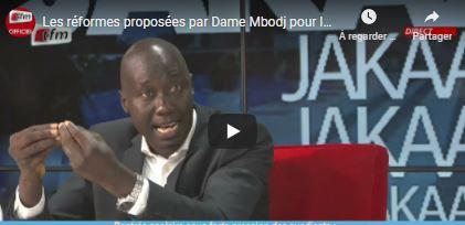 Les réformes proposées par Dame Mbodj pour l'enseignement sénégalais